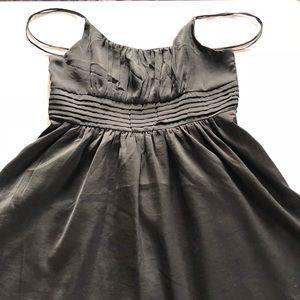 H&M Gathered Bust Dress Black Size 14